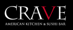 Crave American Kitchen and Sushi Bar logo